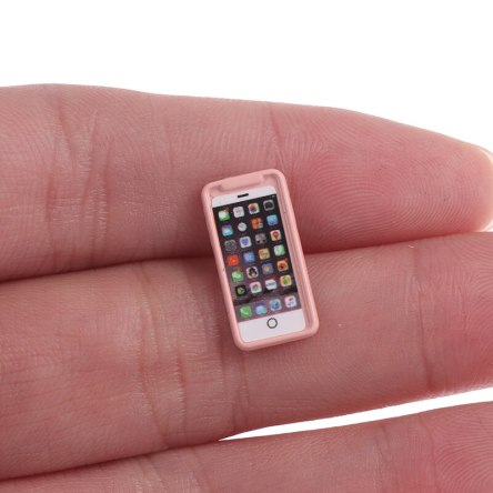Miniature 1:12 Mobile Phone Dollhouse Crafting Accessory