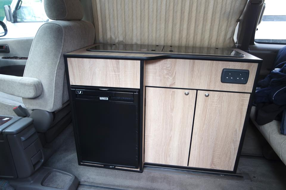 Custom Kitchen Pods Moore S Campers