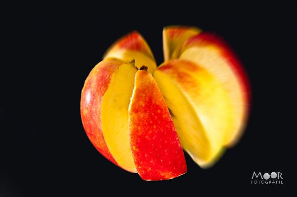 Exploding Fruit Strobist