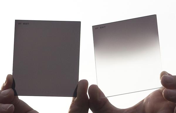 Filters Fotografie Gradual Neutral Density ND GND