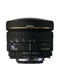 Sigma 8mm fisheye groothoeklens