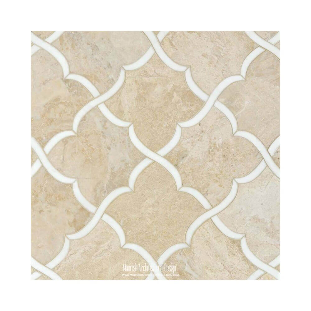 arabesque backsplash tile moroccan