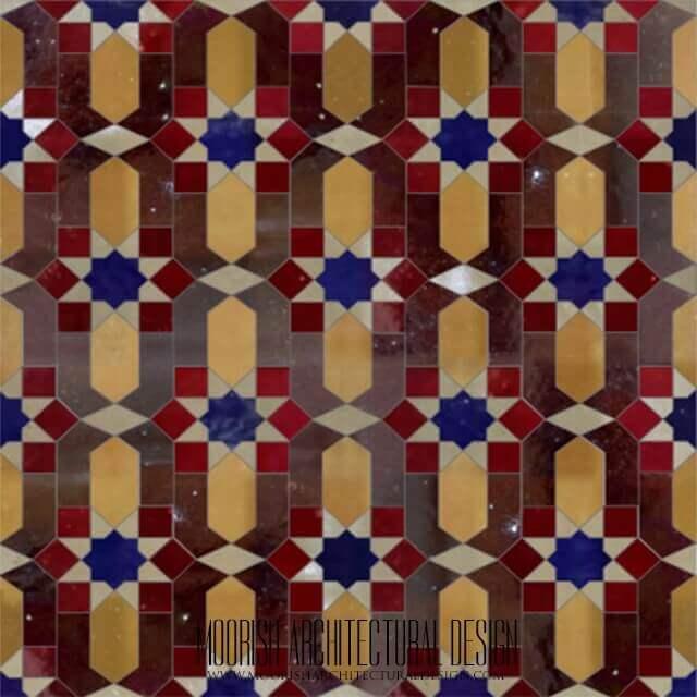 traditional moroccan zellige tiles