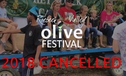 Riebeek Valley Olive Festival 2018 – CANCELLED