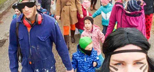 Faschingswanderung Gesunde Gemeinde