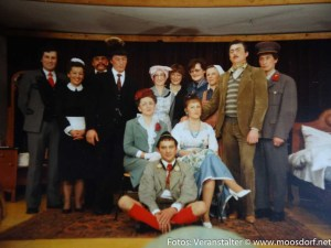 40 Jahre Jubiläum Theaterverein Moosdorf - so sah das aus