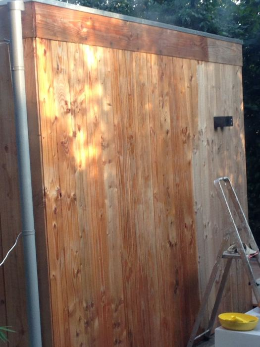 hout waterafstotend