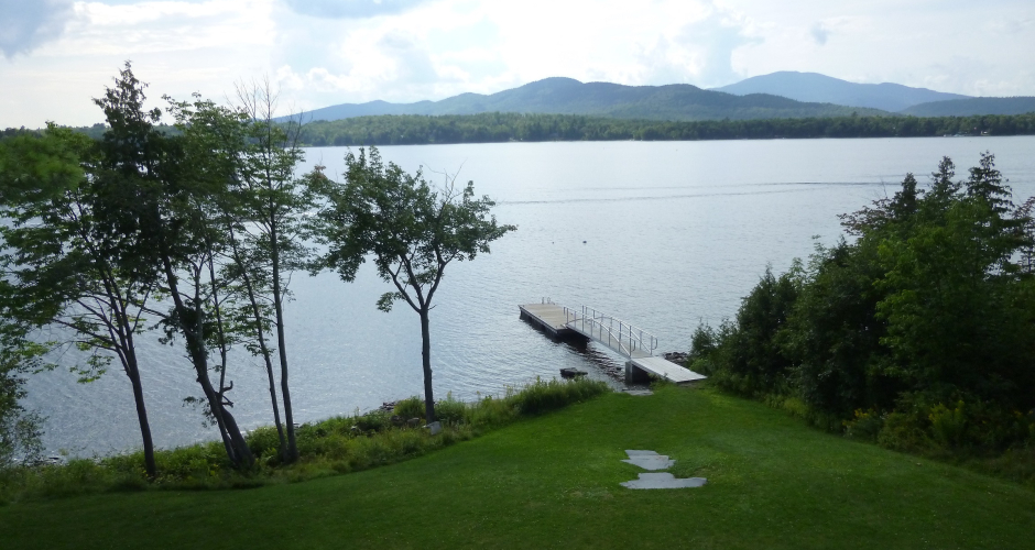 Dock on Moosehead Lake
