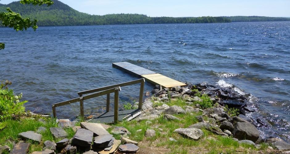 Rustic Cabin Dock