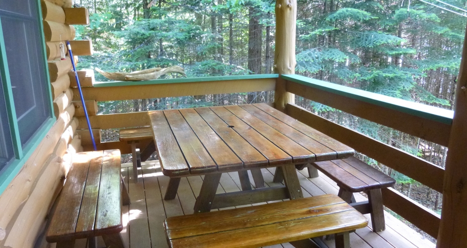 Loon Landing Deck Dining