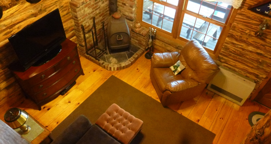 Loon Landing Living Area View