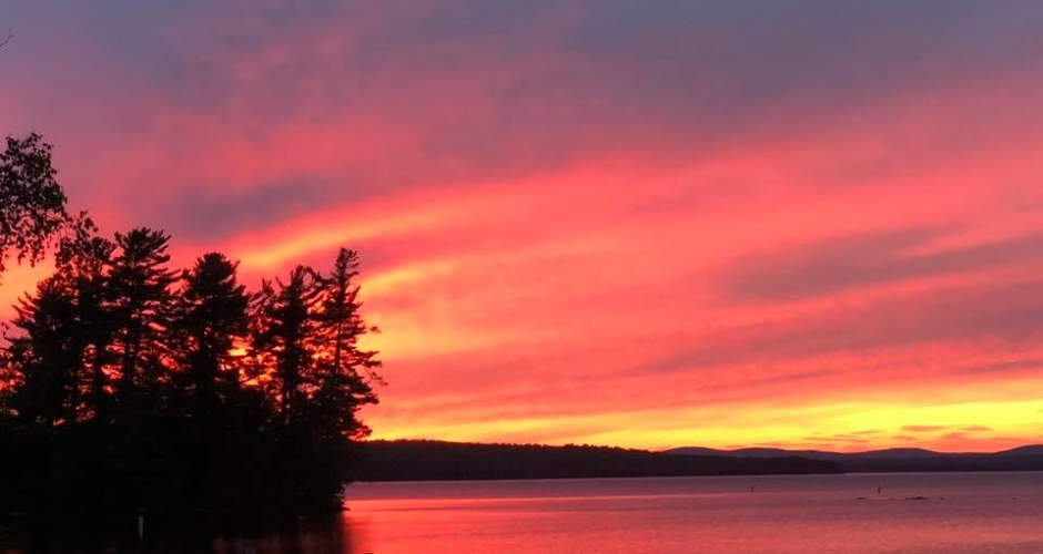Sunset at Rockwood Cottages