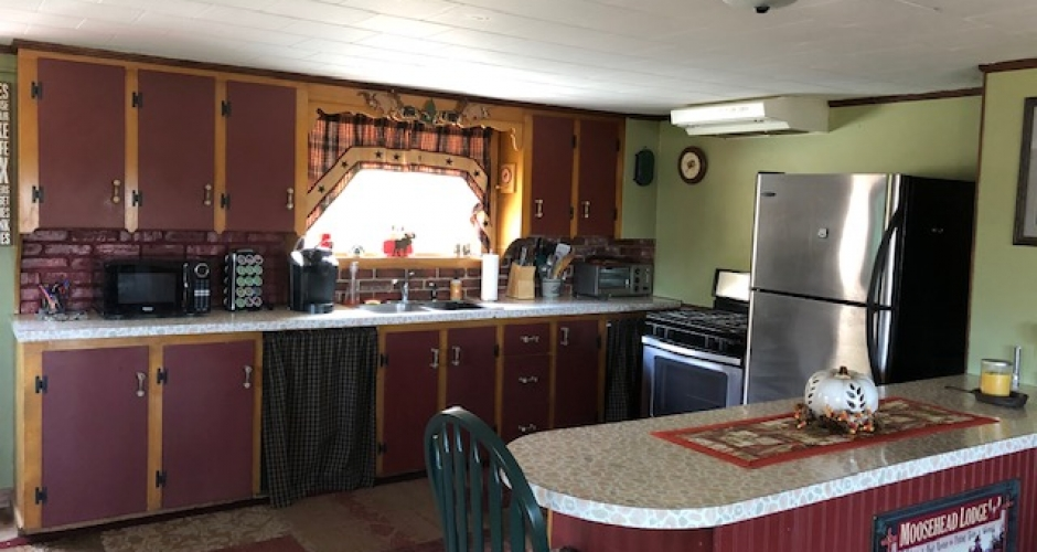 Kitchen at Moosehead Lodge