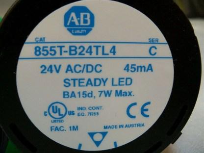 855T-Stack-Light-LED-Allen-Bradley-Blue-Green-Red-w-base-855T-BCB-ser-B-6