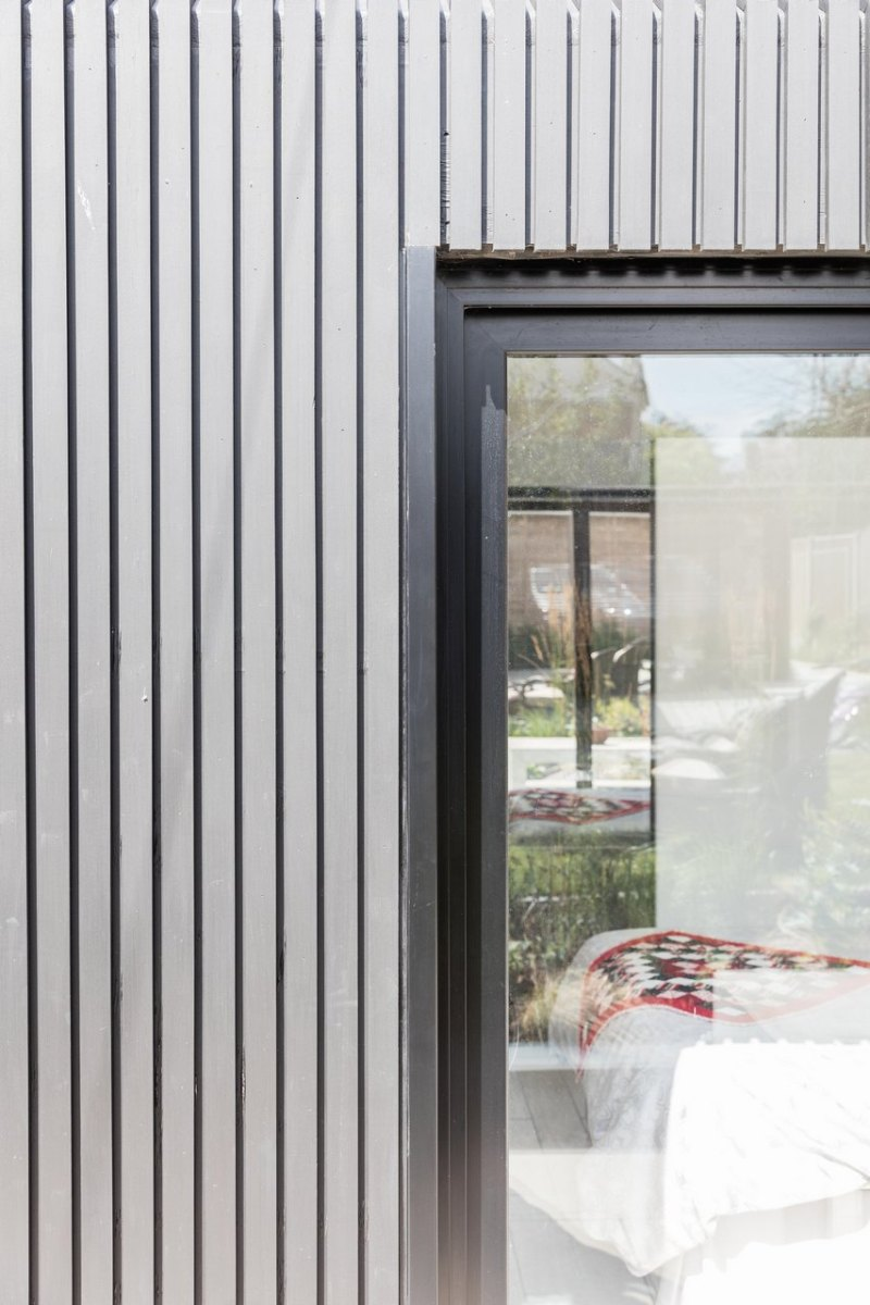 Contemporary Wooden House Extension