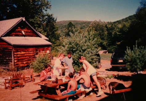 1999 - The Lazy K Ranch, Kuhn and Marello families.