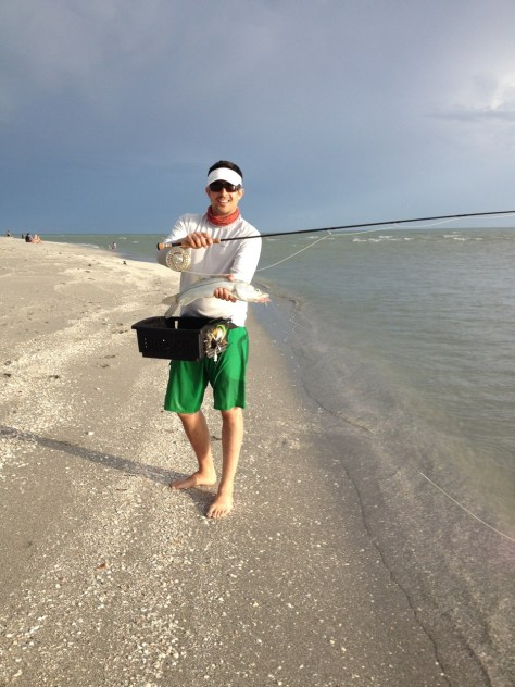 Nick's first Snook on the fly.