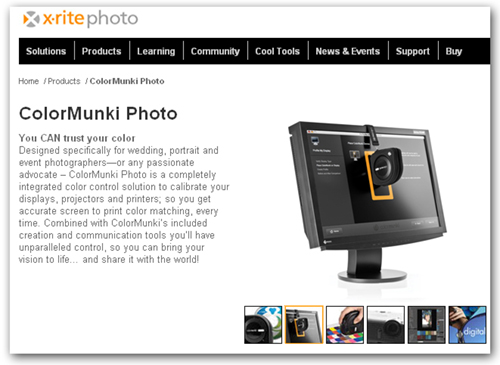 ColorMunki | Moose Peterson's Website
