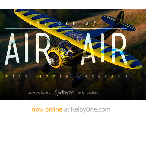 Air to Air Photography - Kelby Training