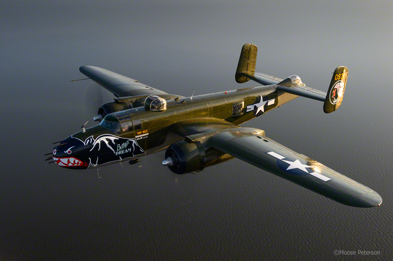 """B-25J """"Betty's Dream"""" captured by D4, 24-70AFS"""