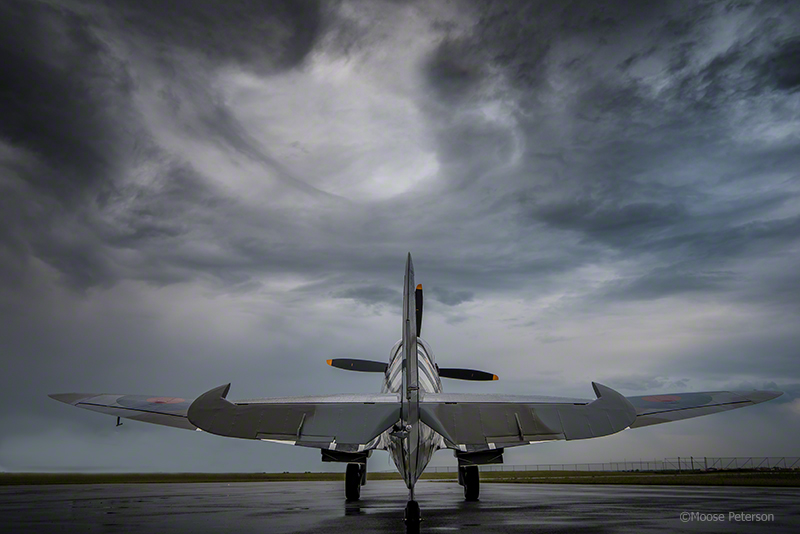 Spitfire MkIXc captured by D750 / 24-70VR