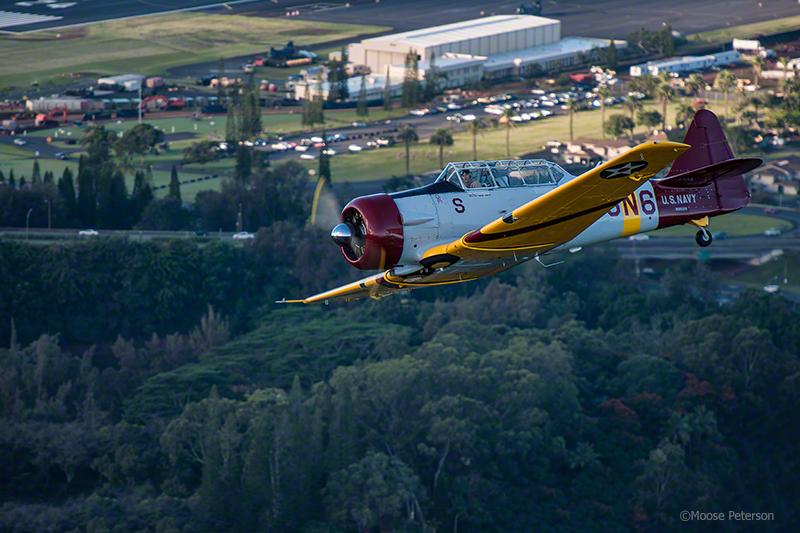 Flight over Wheeler Field