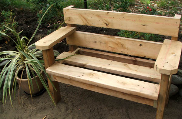 The First Bench is Finished