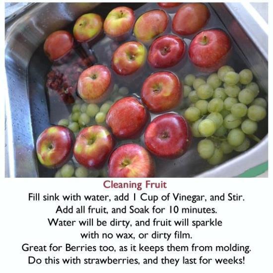 Kako očistiti voće od pesticida i prljavštine