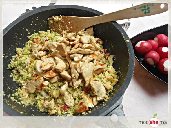 karfiol fried rice mooshema