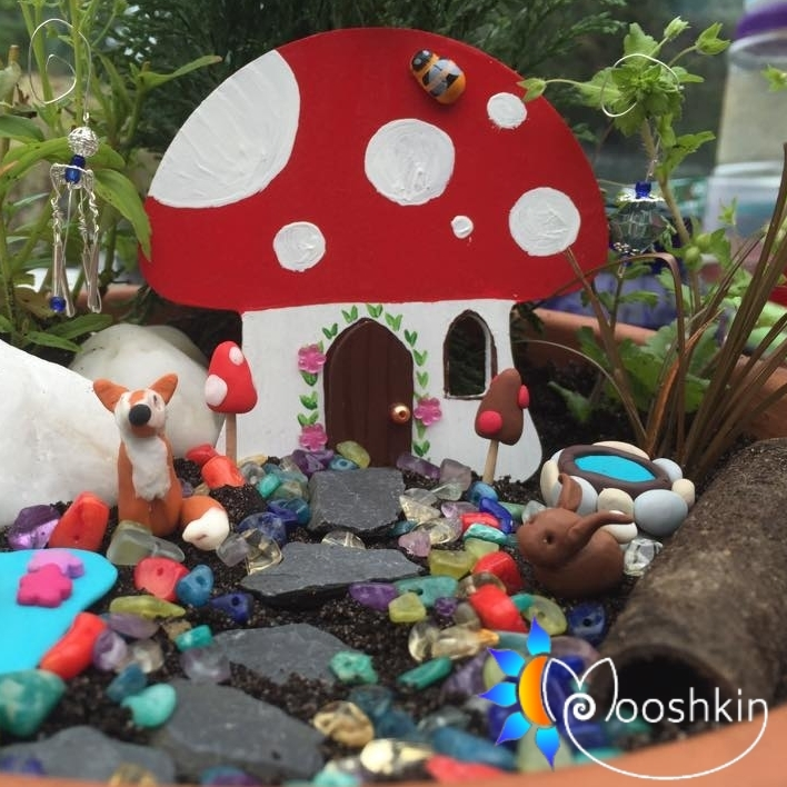 hand made fairy garden decorating kit - Mooshkin
