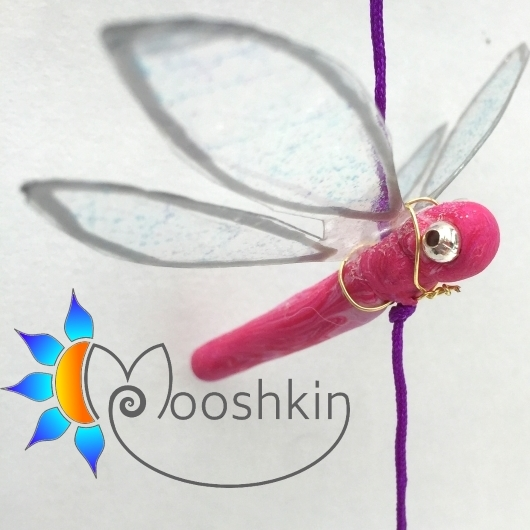 Dragonfly dangler by Mooshkin