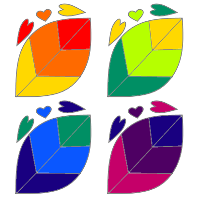 rainbow leaves v3