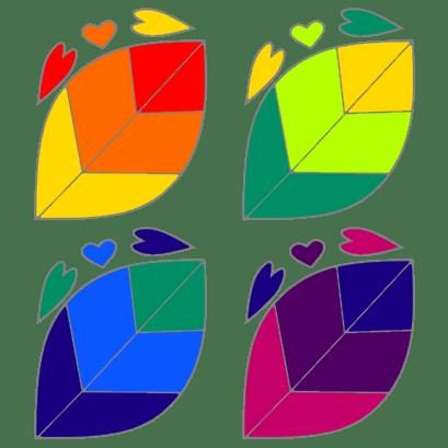 rainbow leaves v3