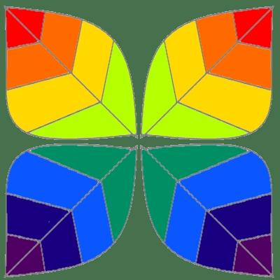 rainbow leaves v2
