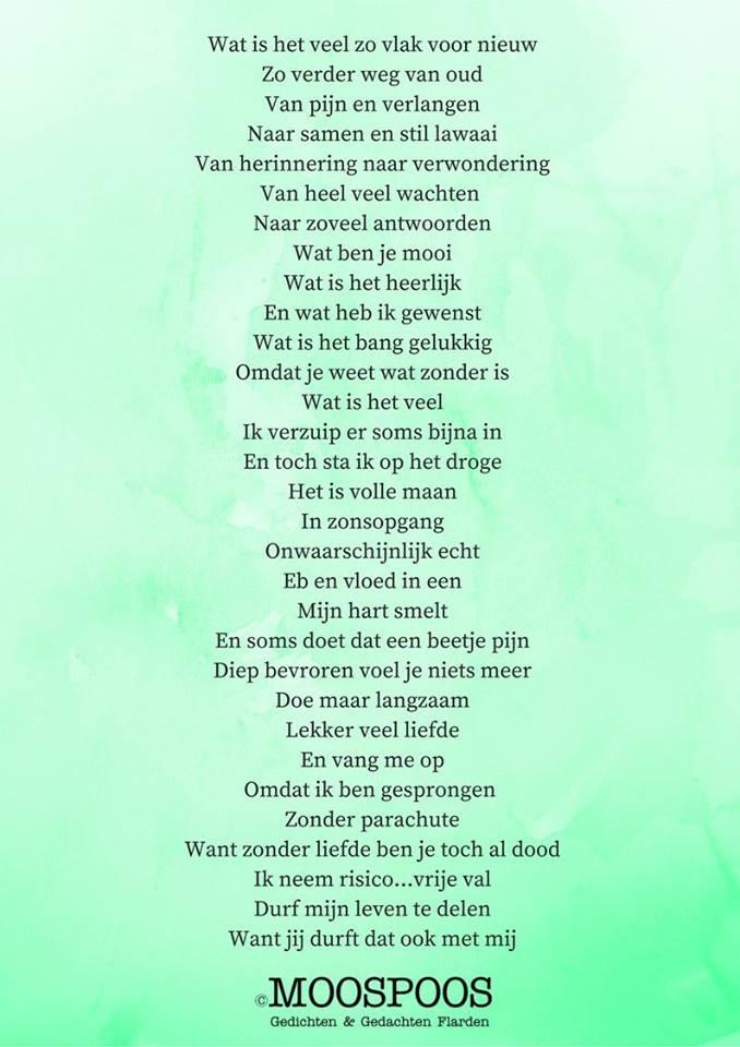 gedichten en gedachten flarden – moospoos