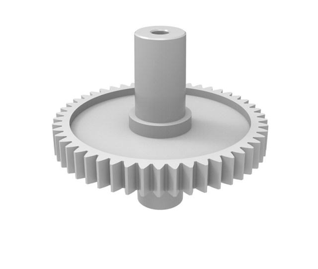 Plastic Gear Module 0 Z Shape Straight
