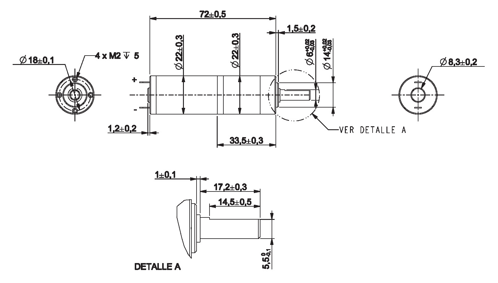 Gear Motor Dc 12v 520rpm Ref 12