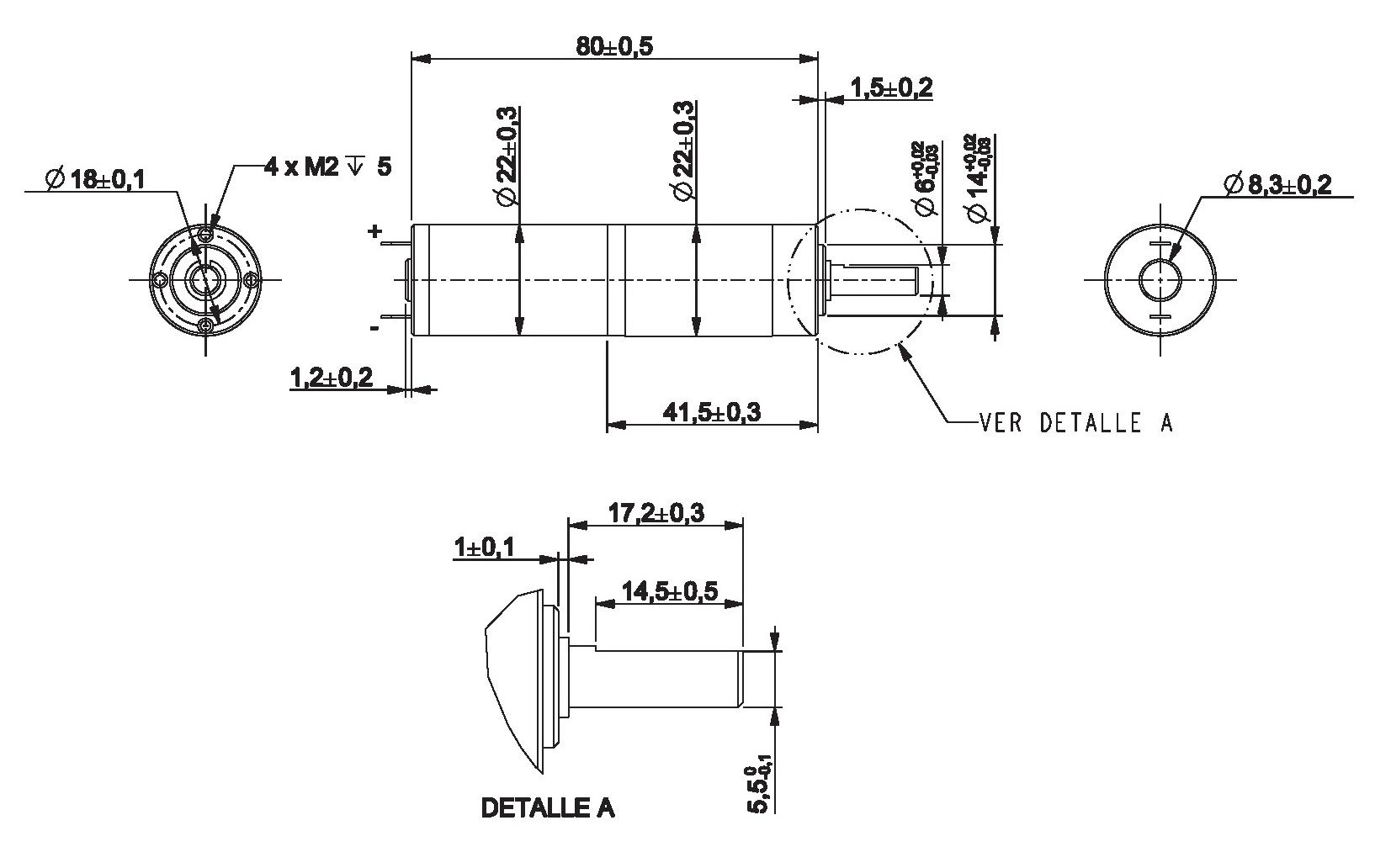 Motorreductor Dc 6v 38rpm Ref 6