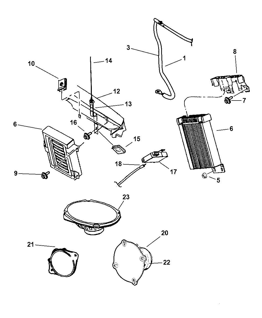 Dodge Intrepid Antenna