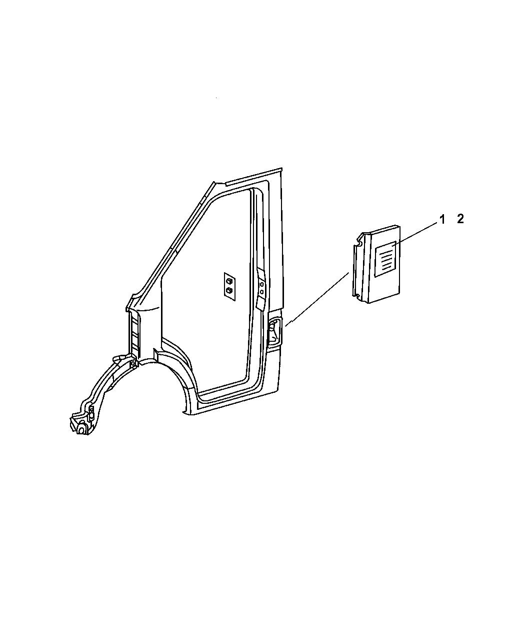 Dodge Sprinter Fuel Door Amp Filler