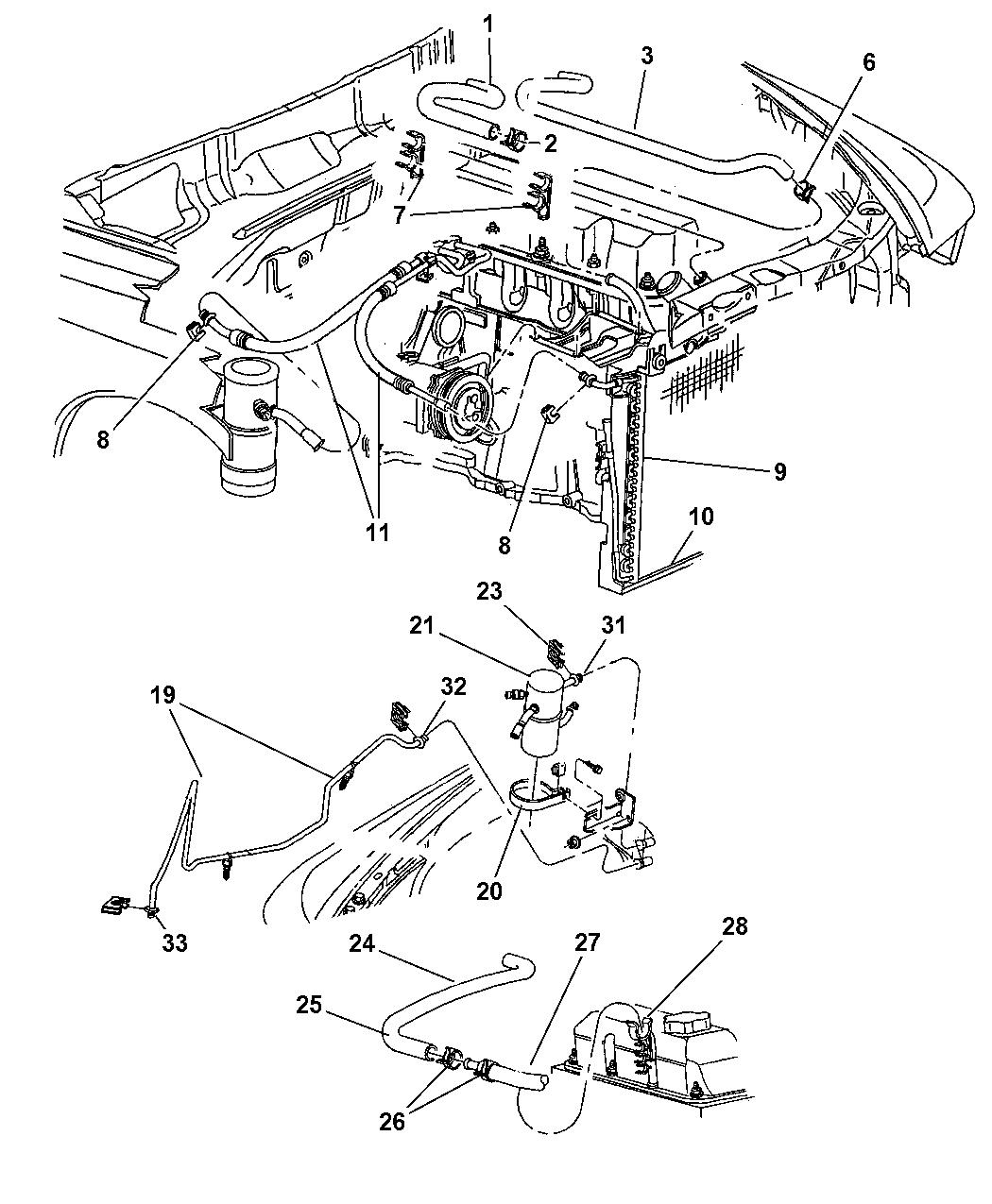 Dodge Dakota Plumbing