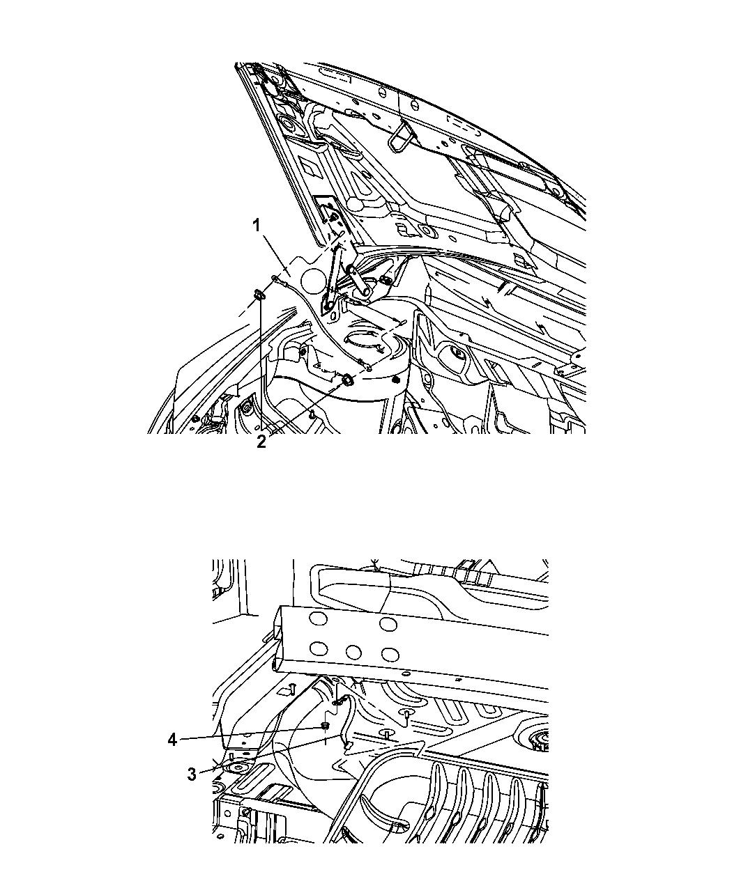 Dodge Caliber Ground Straps Engine