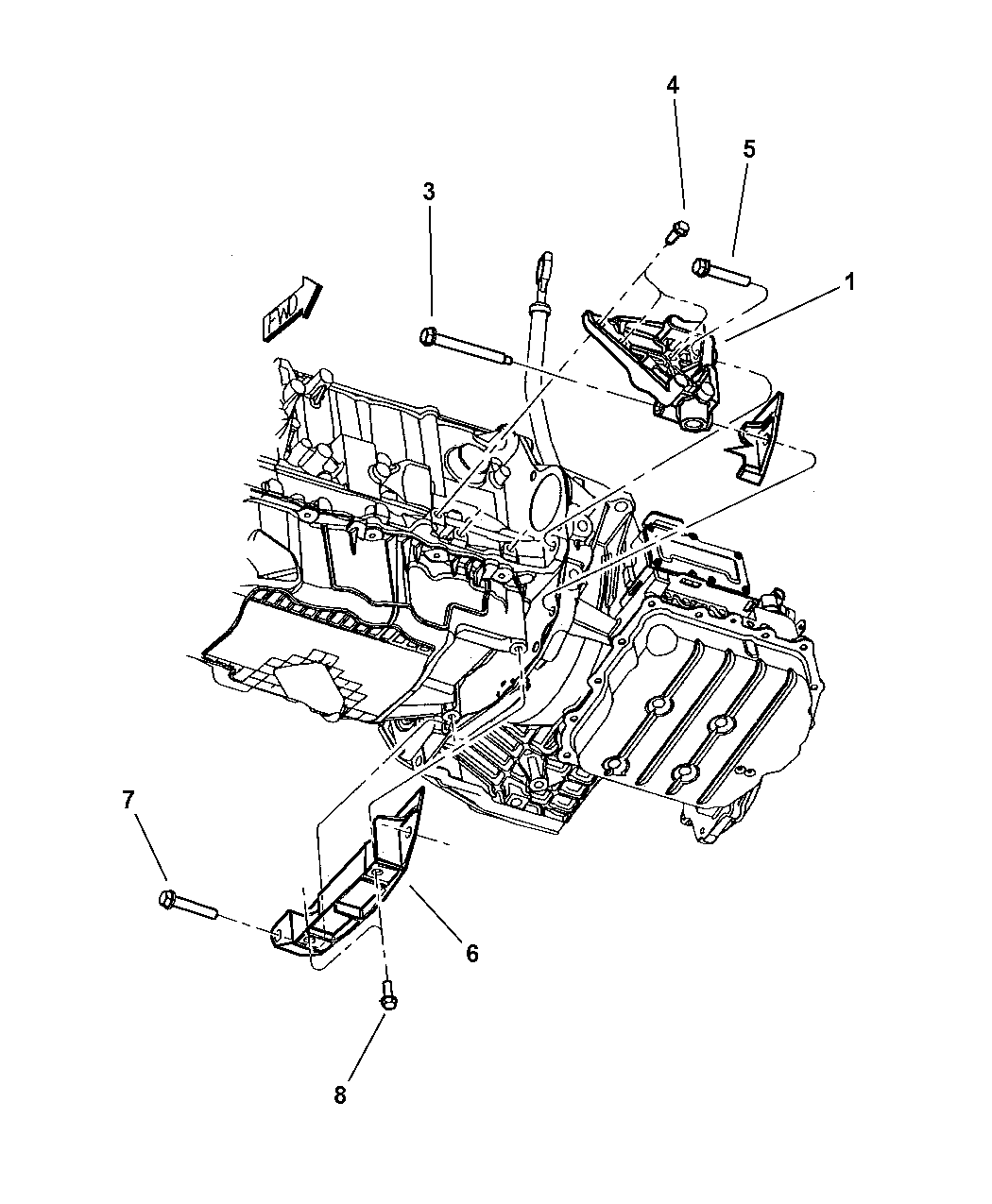 Chrysler Pt Cruiser Engine Mounts Struts Amp Collars