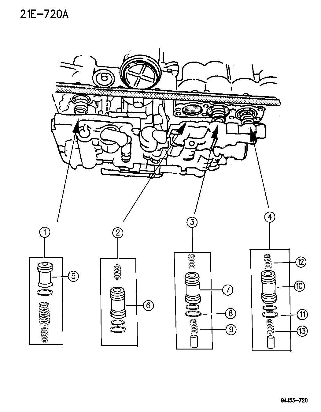 Jeep Cherokee Accumulator Piston Amp Spring
