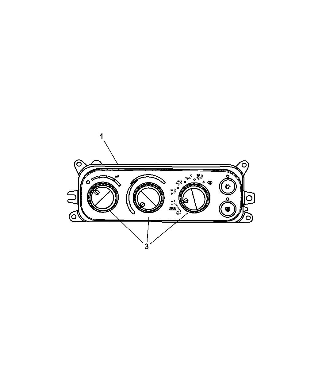 Dodge Ram Controls Heater Amp A C