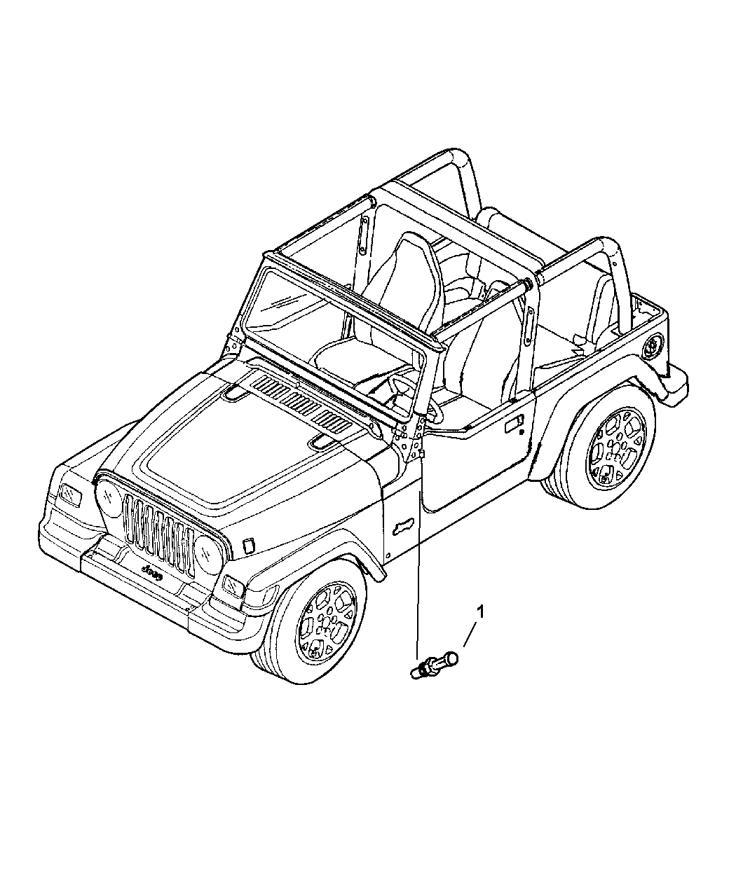 Jeep Wrangler Switches