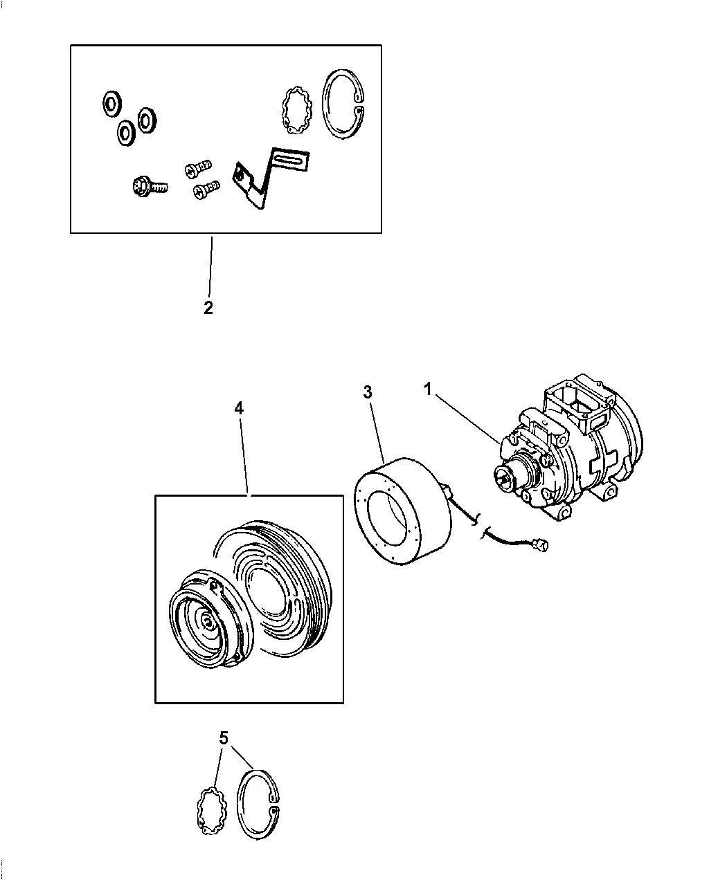 Dodge Magnum Compressor Amp Related Parts