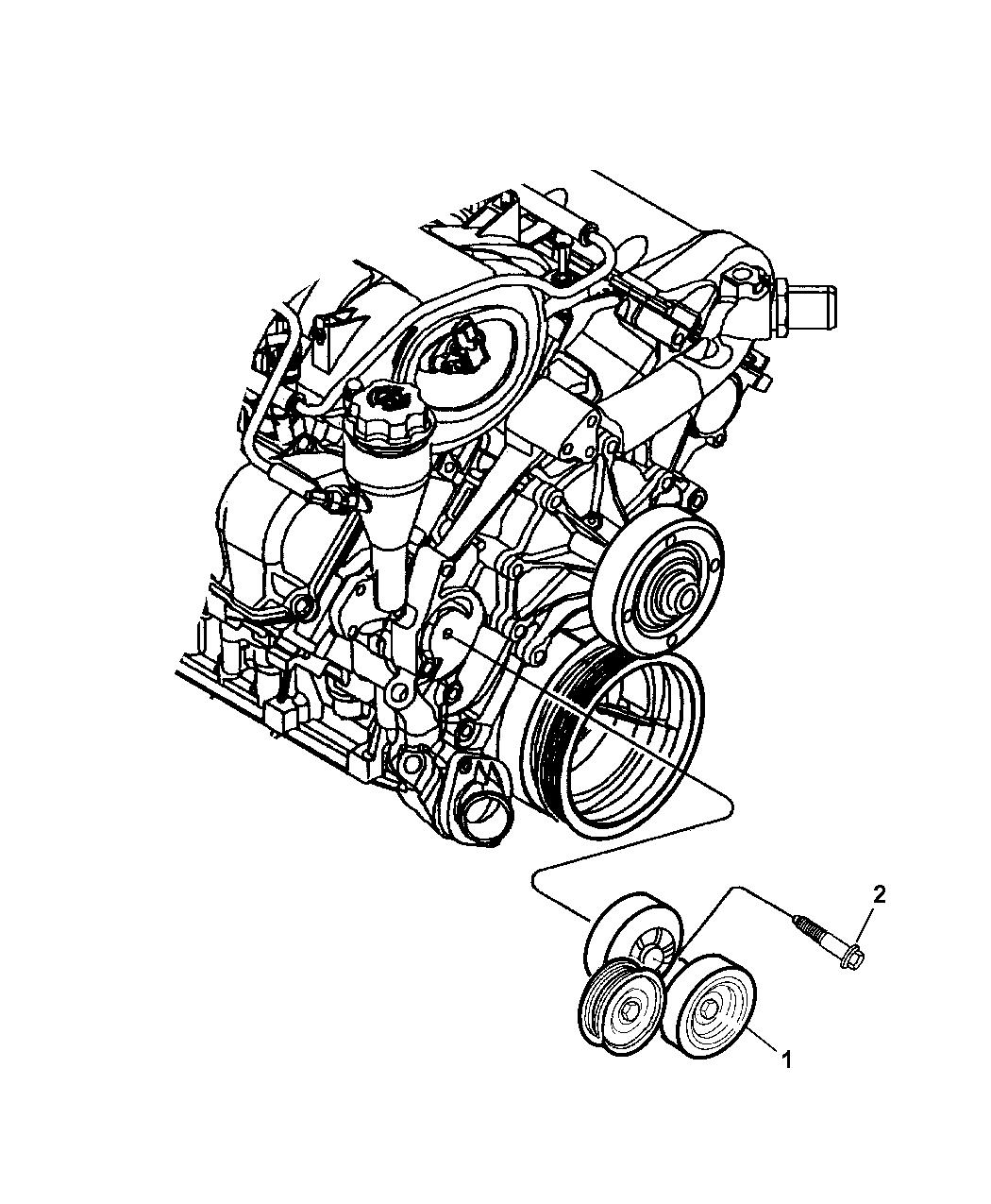 Dodge Dakota Drive Pulleys