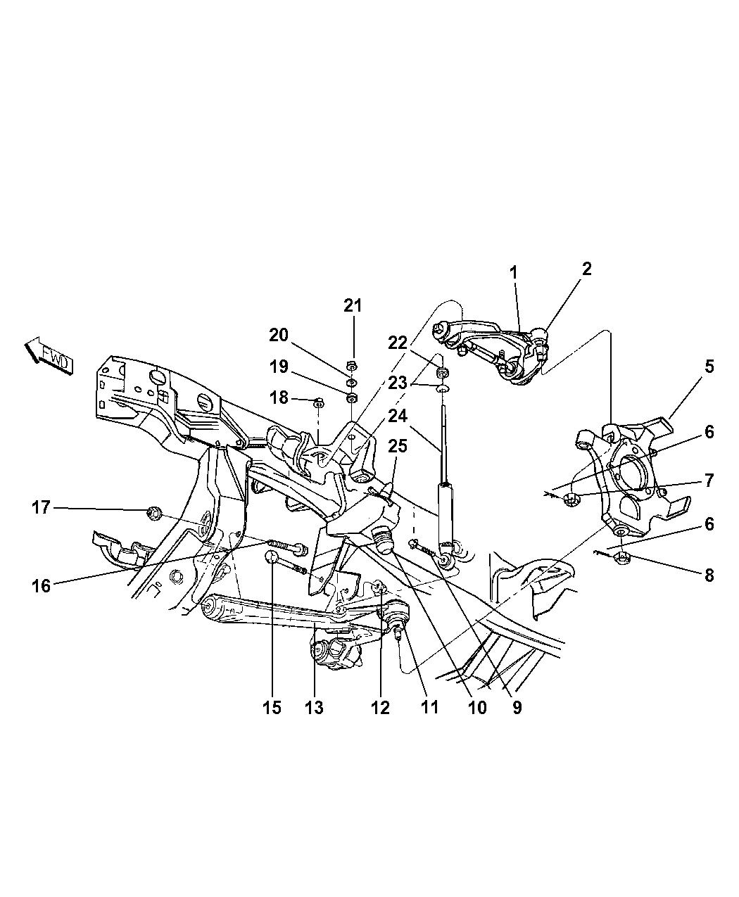 Dodge Dakota Suspension