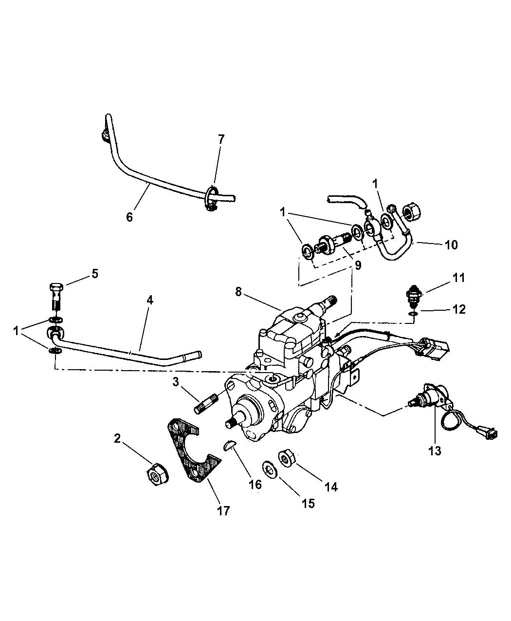 Jeep Cherokee Fuel Injection Pump